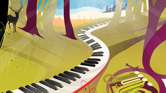 Simply Music, Australia - Award winning illustration
