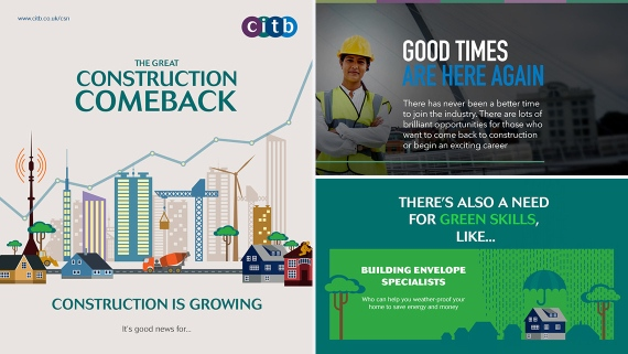 CITB Construction Skills - Infographics